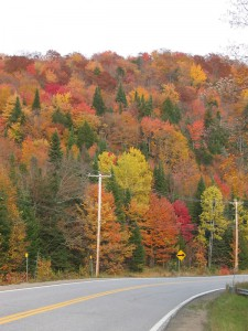 Autumn colors in Québec, Canada